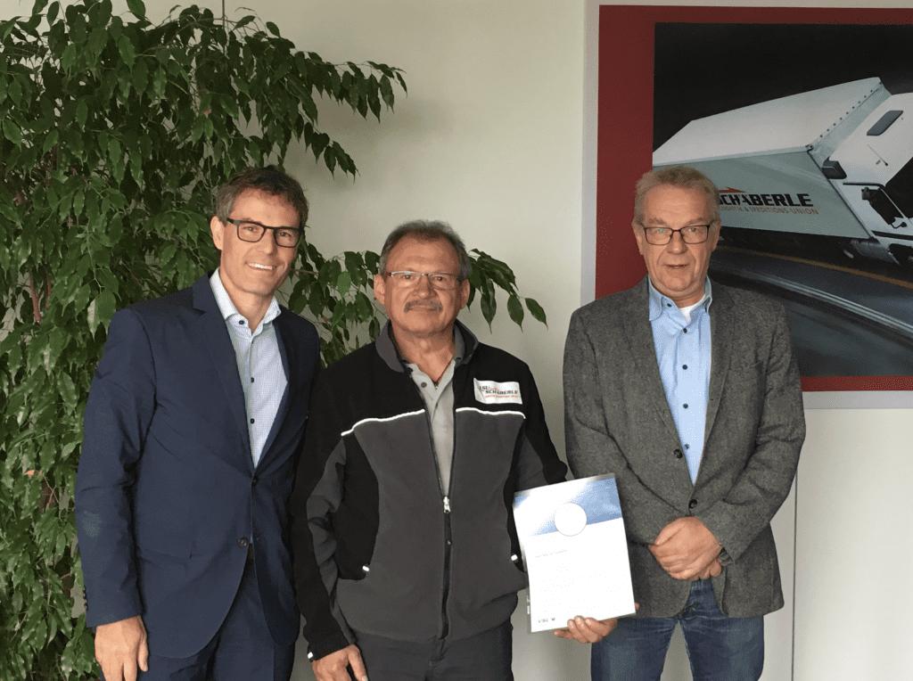 25th company anniversary – Mr. Marian Glodala