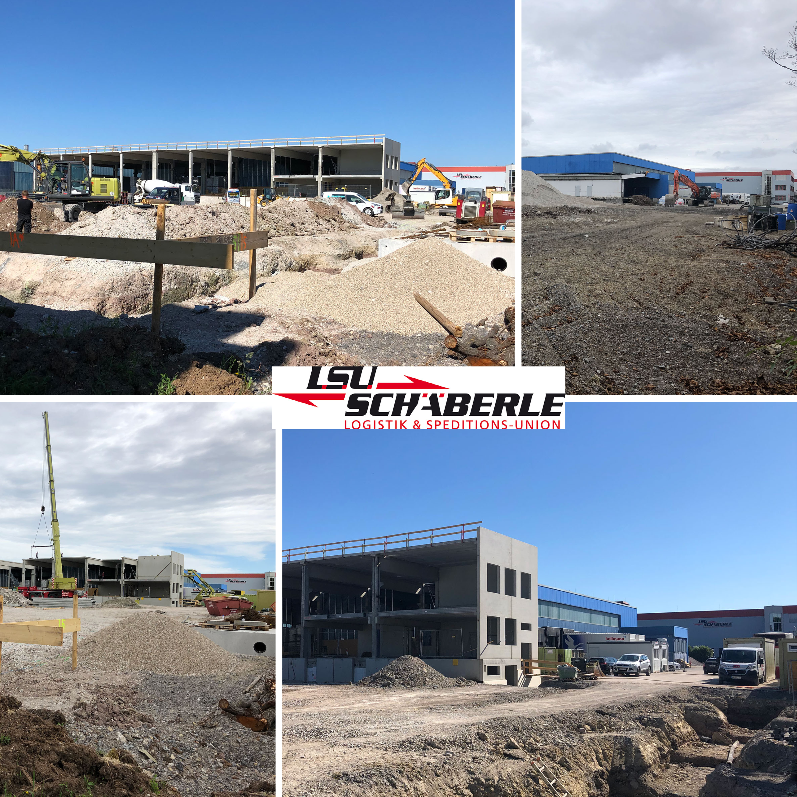 News on the construction of our new hazardous materials warehouse